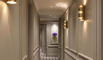 corridor of flemings mayfair hotel