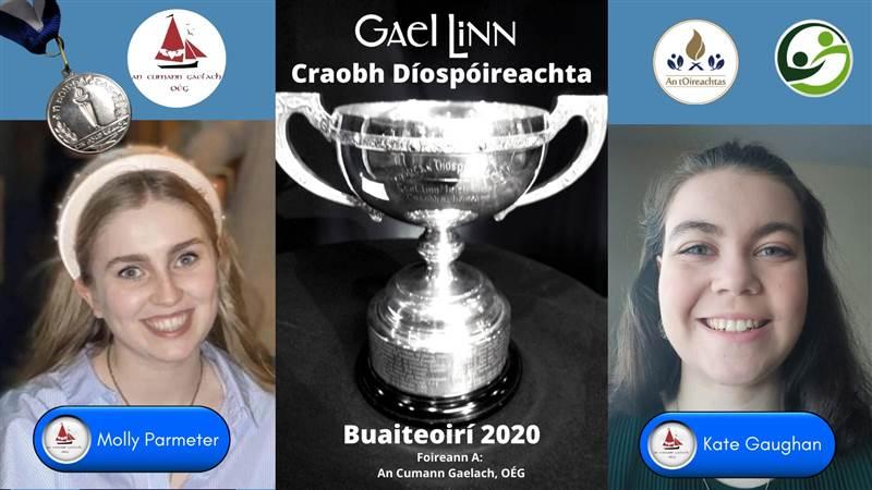 Buaiteoirí Chraobh Díospóireachta Tríú Leibhéal 2020!