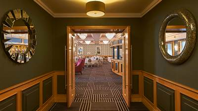 Hall at Garryvoe 4 Star Hotel in East Cork