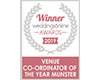 Venue co-ordinator of the year Munster