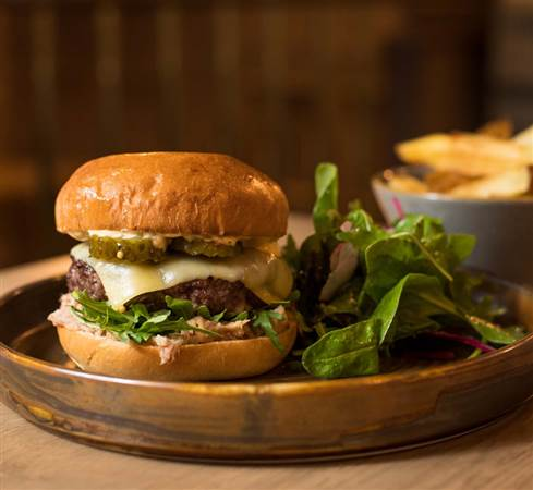 Beef Burger at Glenlo