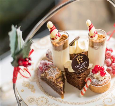 Christmas Afternoon Tea at Glenlo Abbey