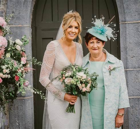 Shirley and Benny Glenlo Wedding Photo