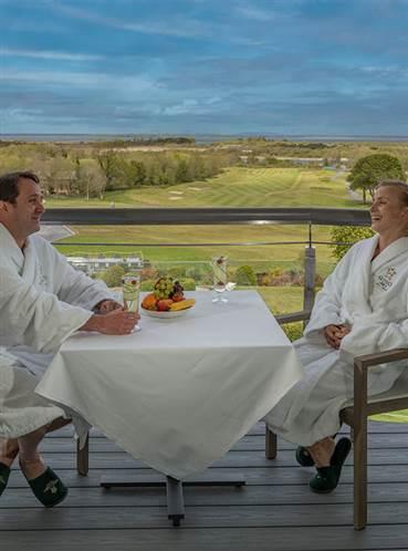 5 star spa hotels Ireland. Glenlo Abbey in Galway