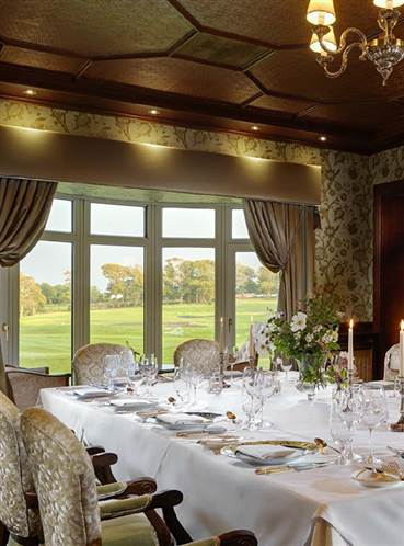 Private party venues in Galway at Glenlo Abbey 5 star hotel