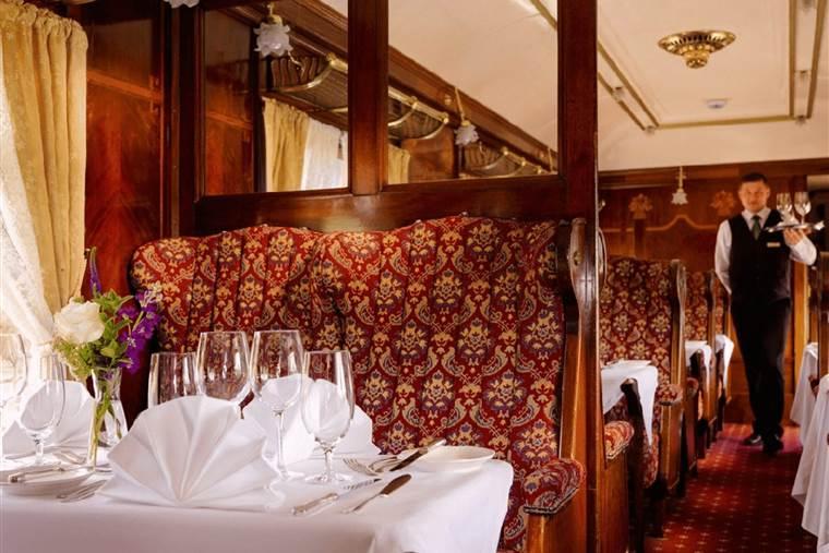 The Winter Orient Express Glenlo Abbey Hotel 360