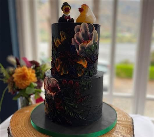 Ducky Wedding Cake