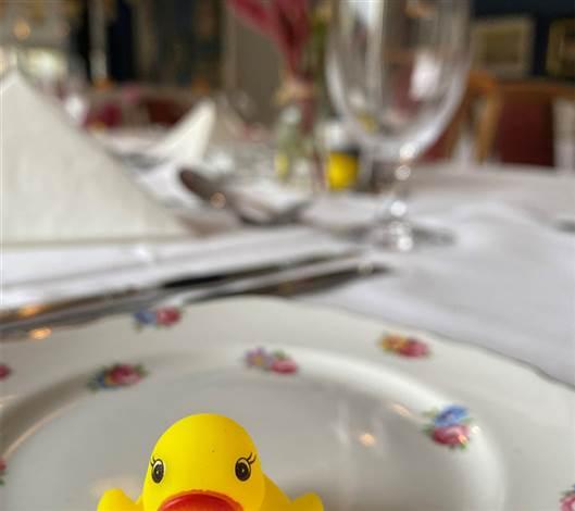 Vintage Set Up Restaurant Duckie
