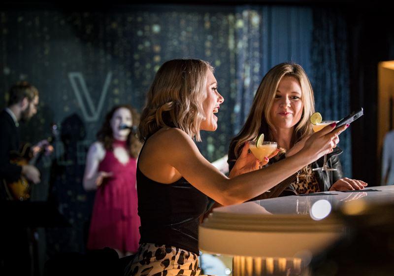 Veuve Clicquot Party in Valeria's Champagne Bar