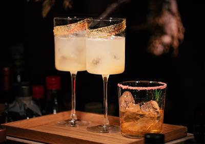 Valerias Cocktail Bar at Grantley Hall