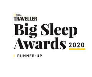 logo bigsleepawardsbadges runnerup