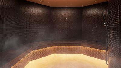 Three Graces Spa Steam Room