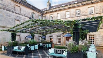 Norton Bar Courtyard at Grantley Hall 5 Star in Yorkshire