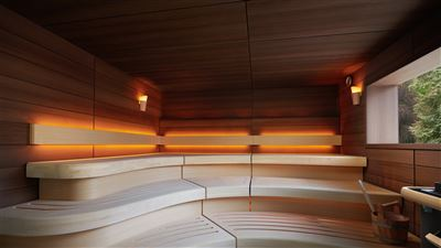 Three Graces Spa Sauna