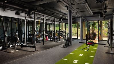 ELITE Performance center and luxury gym at Grantley Hall 5 star hotel in Yorkshire
