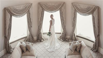 Royal Suite special for Wedding night or honeymoon in North Yorkshire. Grantley Hall 5 Star Hotel