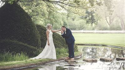 Grantle yHall Wedding venue in North Yorkshire with gardens