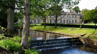 Setting and Grounds - Grantley Hall 5 Star hotel in Yorkshire