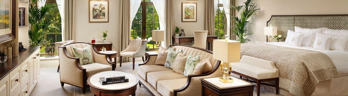 GrantleyHall Superior Suite bedroom