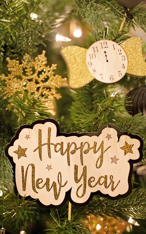 happy new year text 3334355
