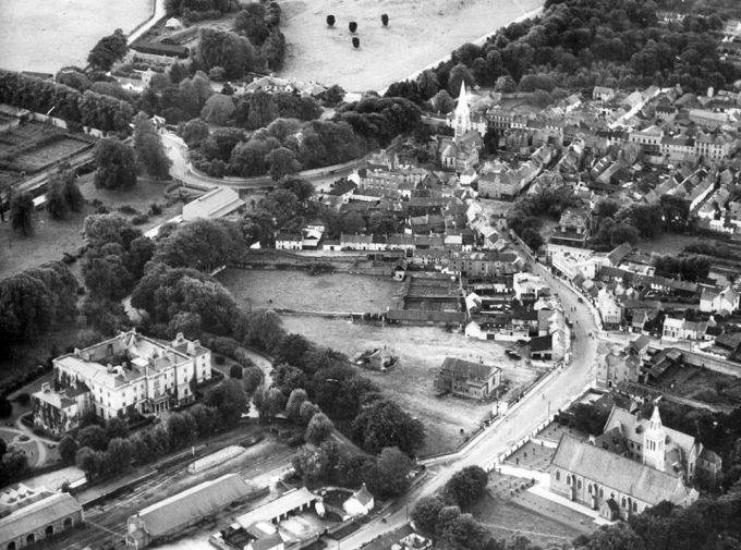 Aerial View of Killarney