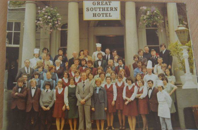 1970s Great Southern Hotel Staff