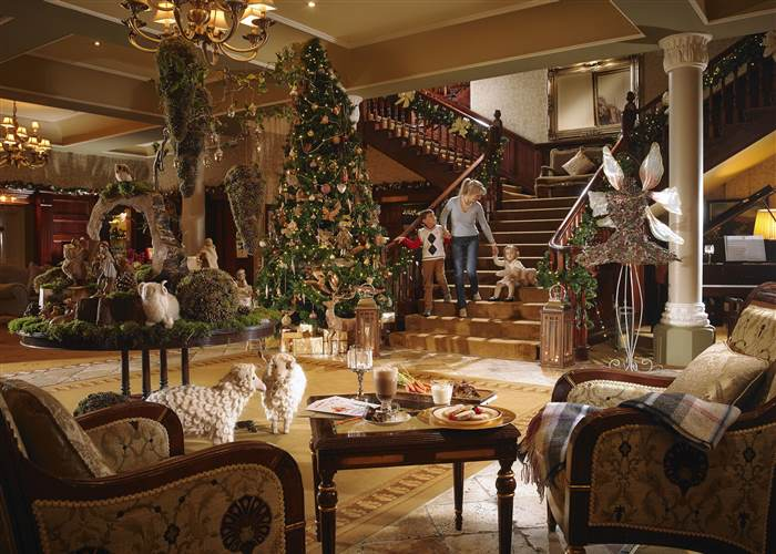Allow us to whisk you away to our world of festive cheer...
