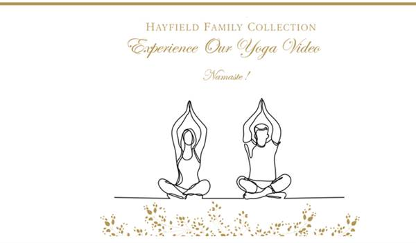 Yoga at Home with Hayfield Manor