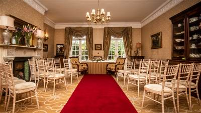 Civil Ceremony in Drawing Room