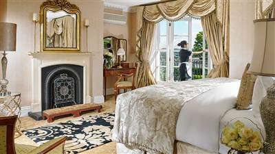 The Master Suite Bedroom