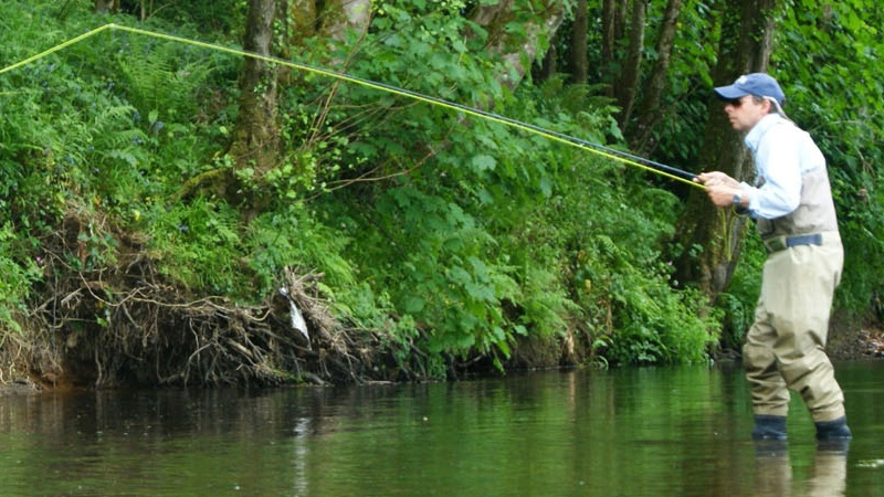 Where to fly fishing in north devon