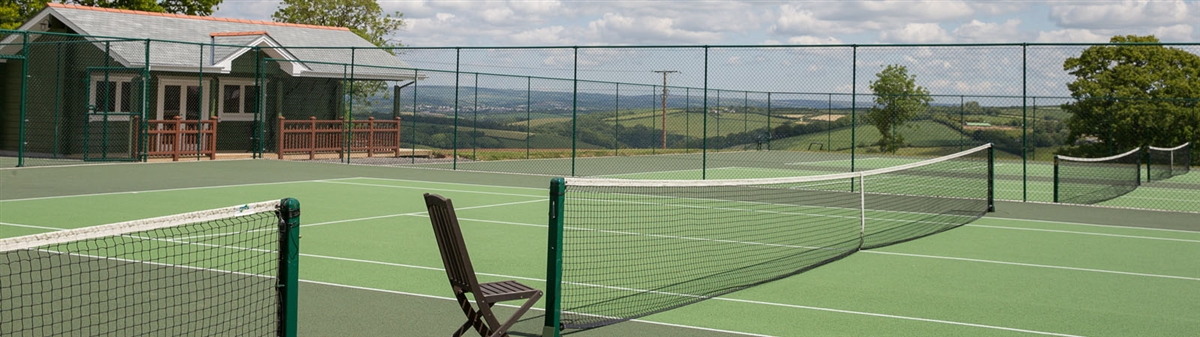 Best tennis hotels in Devon