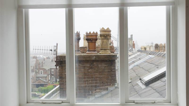 Views of Liverpool from a window