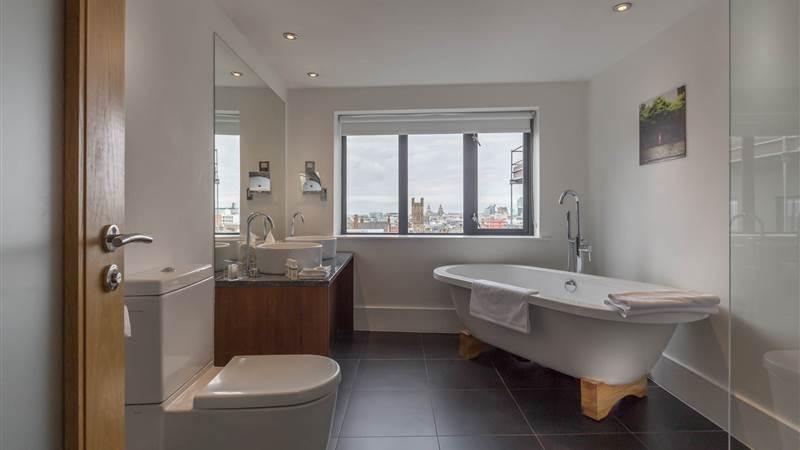 Luxury Bathroom at Hope Street Hotel in Liverpool