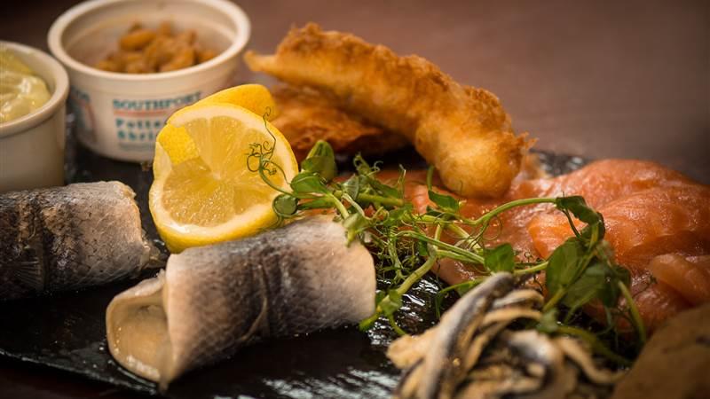 seafood and shellfish platter