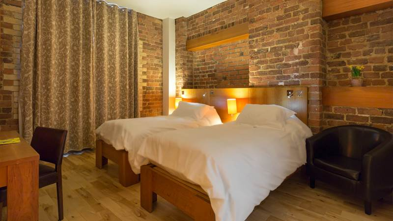 luxury king standard room in Liverpool at Hope Street Hotel