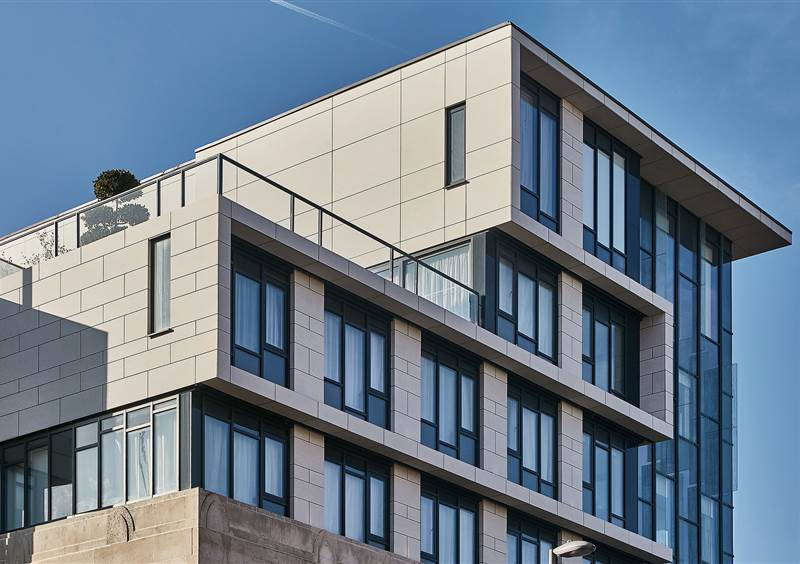 Luxury 4-star hotel rooftop in Liverpool