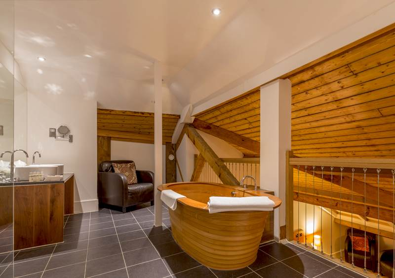 Design bathroom at Hope Street hotel