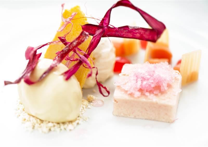 iced rhubarb