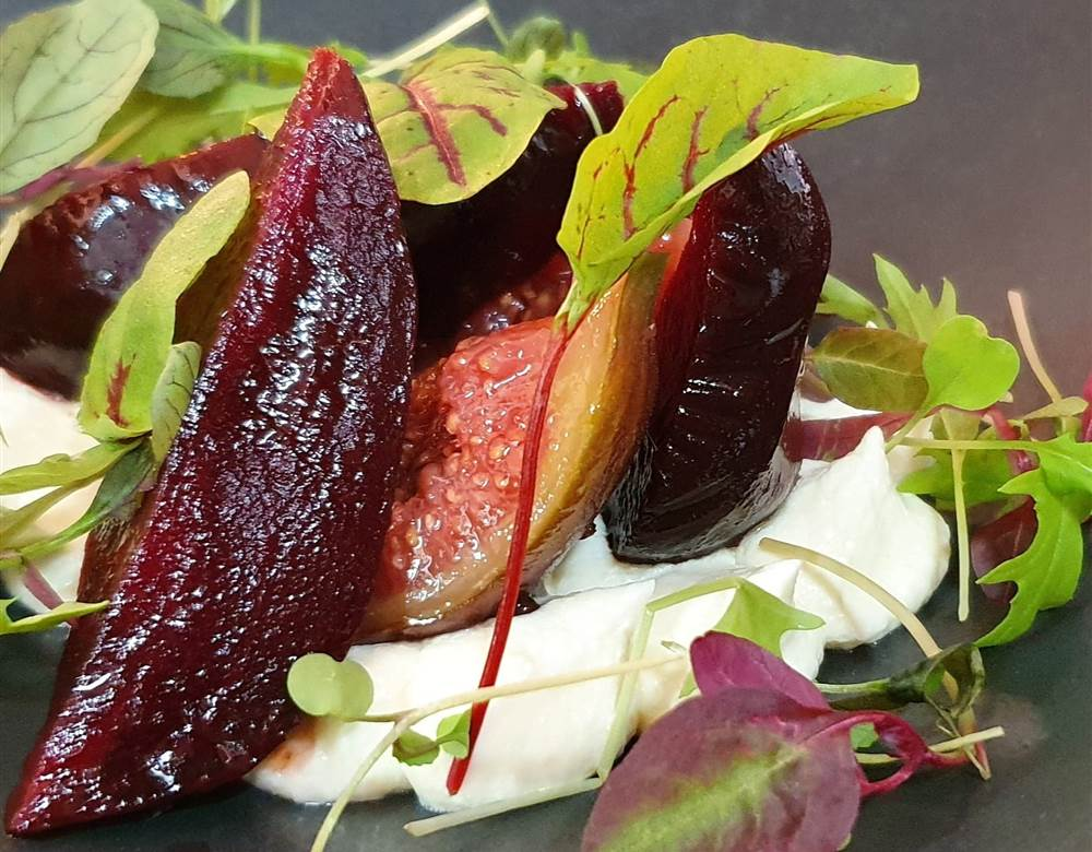 Gourmet dishes in Liverpool at Hope Street