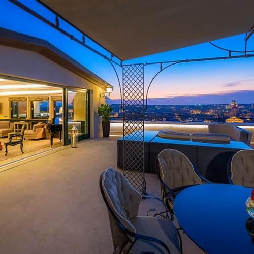 Hassler Penthouse Terrace