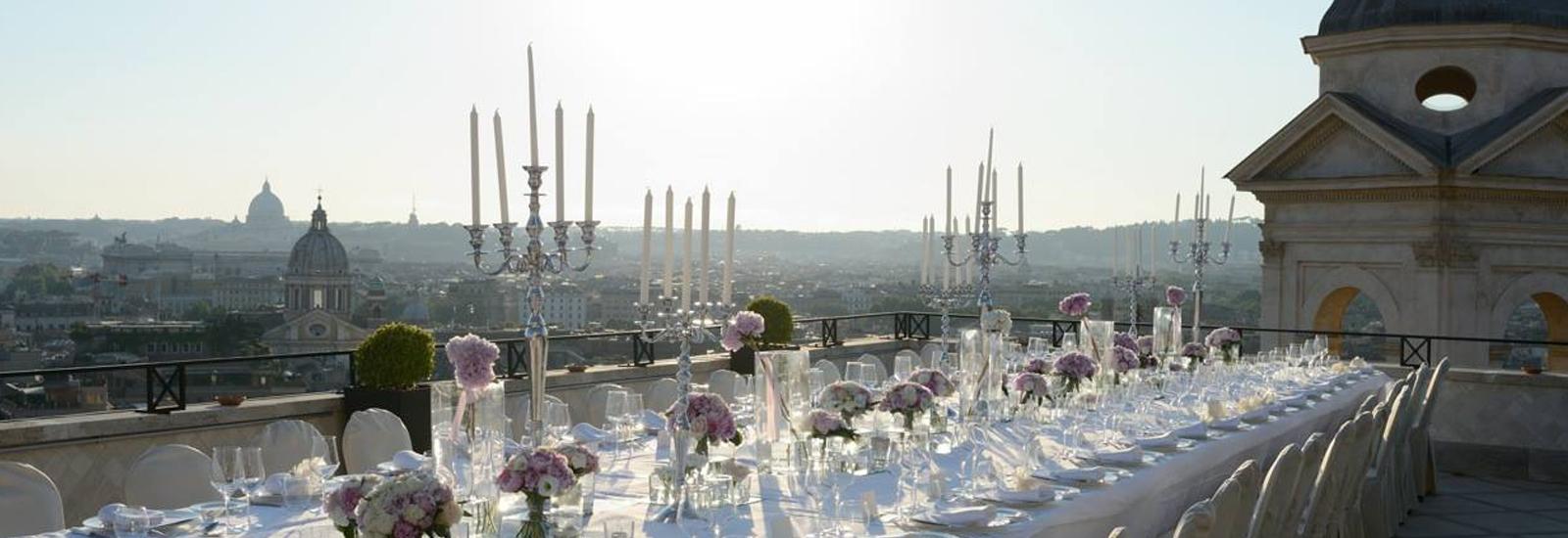 Spanish Steps Rome wedding venue