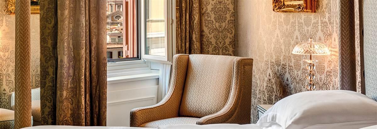 Gran Deluxe Suite Hassler Bedroom Hassl