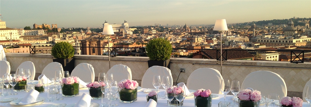 Events weddings Rome city center