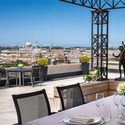 Hassler Roma  Villa Medici Penthouse Ge