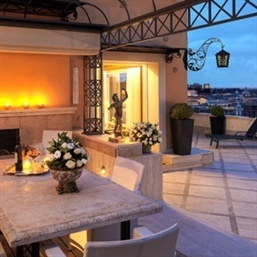 Hassler Villa Medici Penthouse Suite