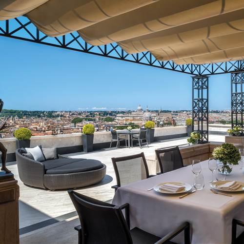 Hassler Villa Medici Penthouse