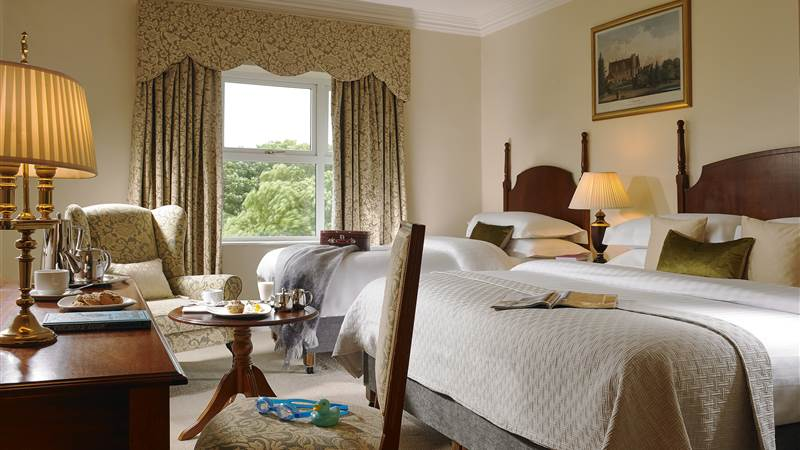 Spacious Rooms With Views
