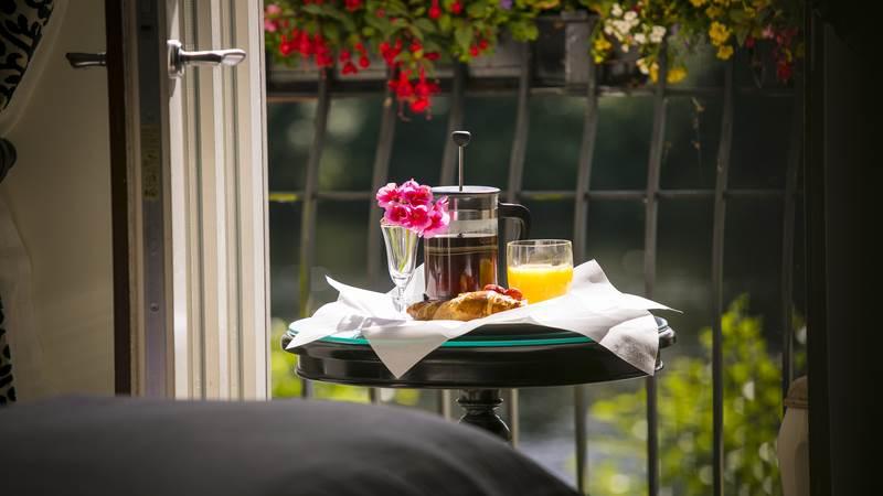 Balcony Breakfast Image