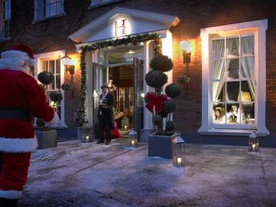 Hayfield Manor at Christmas